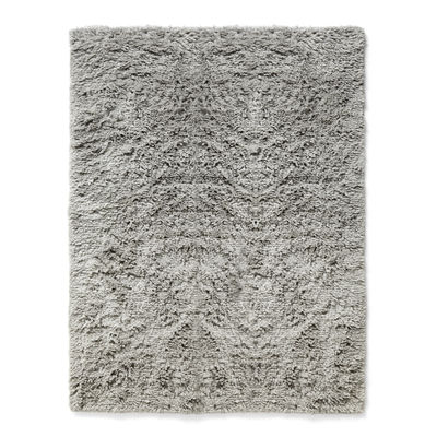 Déco - Tapis - Tapis Shaggy / 140 x 200 cm - Poils longs - Hay - Gris chaud - Laine