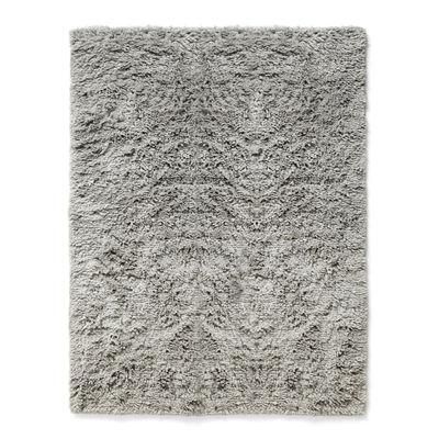 Dekoration - Teppiche - Shaggy Teppich / 140 x 200 cm - Langflorig - Hay - 140 x 200 cm / Warm-grau - Wolle
