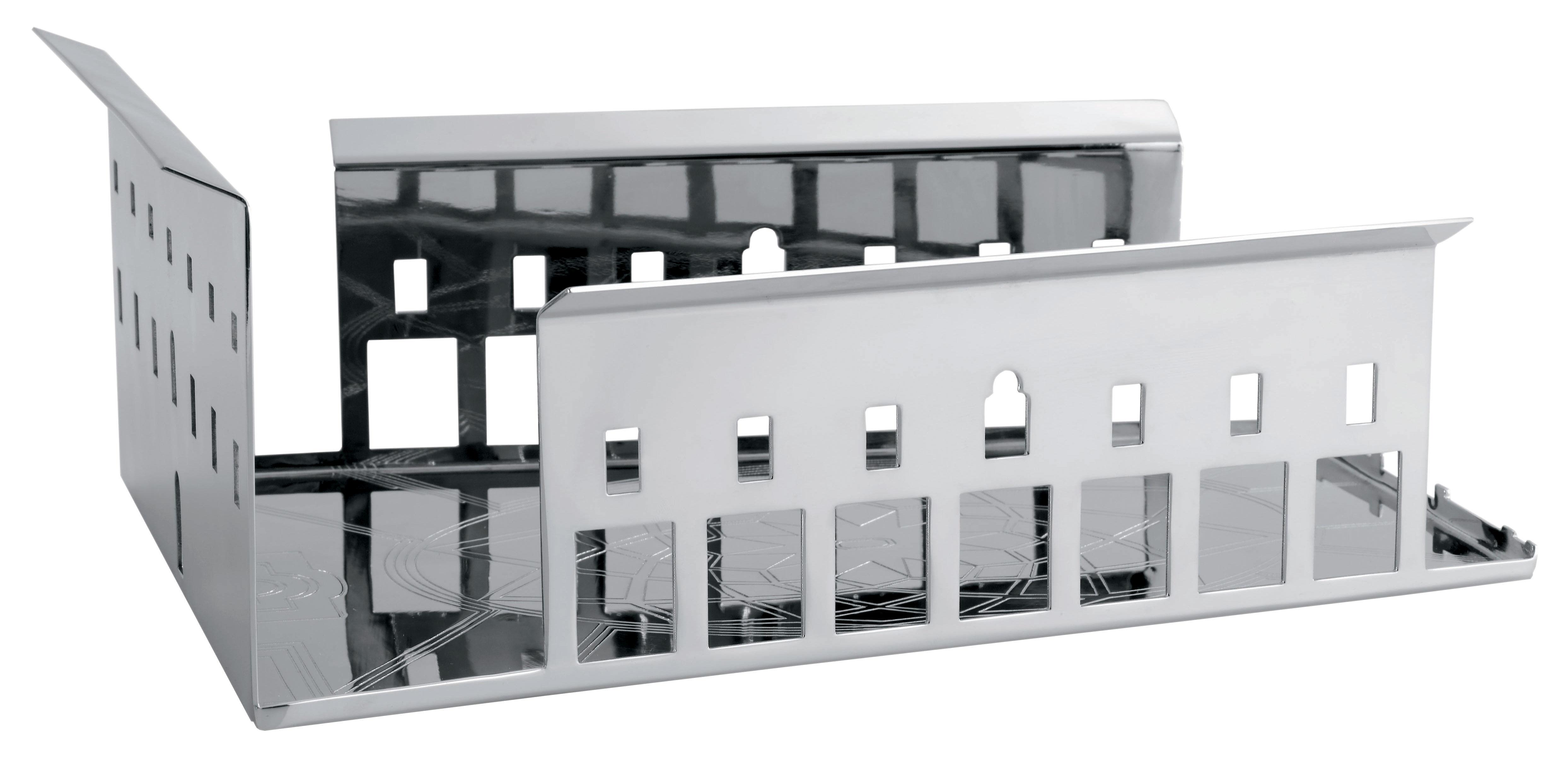 Tischkultur - Körbe, Fruchtkörbe und Tischgestecke - 100 Piazze - Roma Tischgesteck - Driade Kosmo - Silber - Kupfer mit Silberauflage