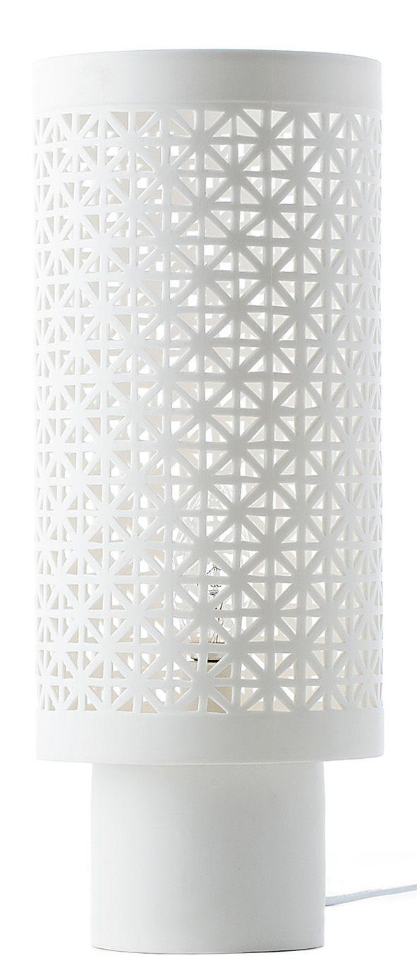 Leuchten - Tischleuchten - Stars Large Tischleuchte / Porzellan - H 38 m - Pols Potten - Weiß - Porzellan