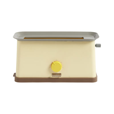 Kitchenware - Kitchen Appliances - Sowden Toaster - / Steel by Hay - Yellow - Polypropylene, Stainless steel