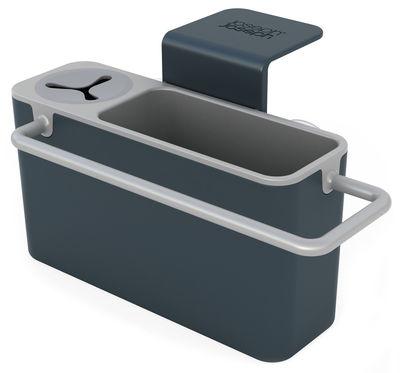 Küche - Spülen und putzen - Sink Aid Utensilienhalter für das Spülbecken / für Spülbecken - mit Wasserablauf - Joseph Joseph - Grau - ABS
