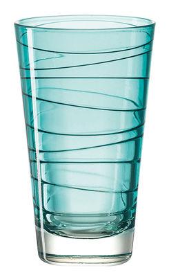 Arts de la table - Verres  - Verre long drink Vario / H 12,6 cm - Leonardo - Bleu - Verre