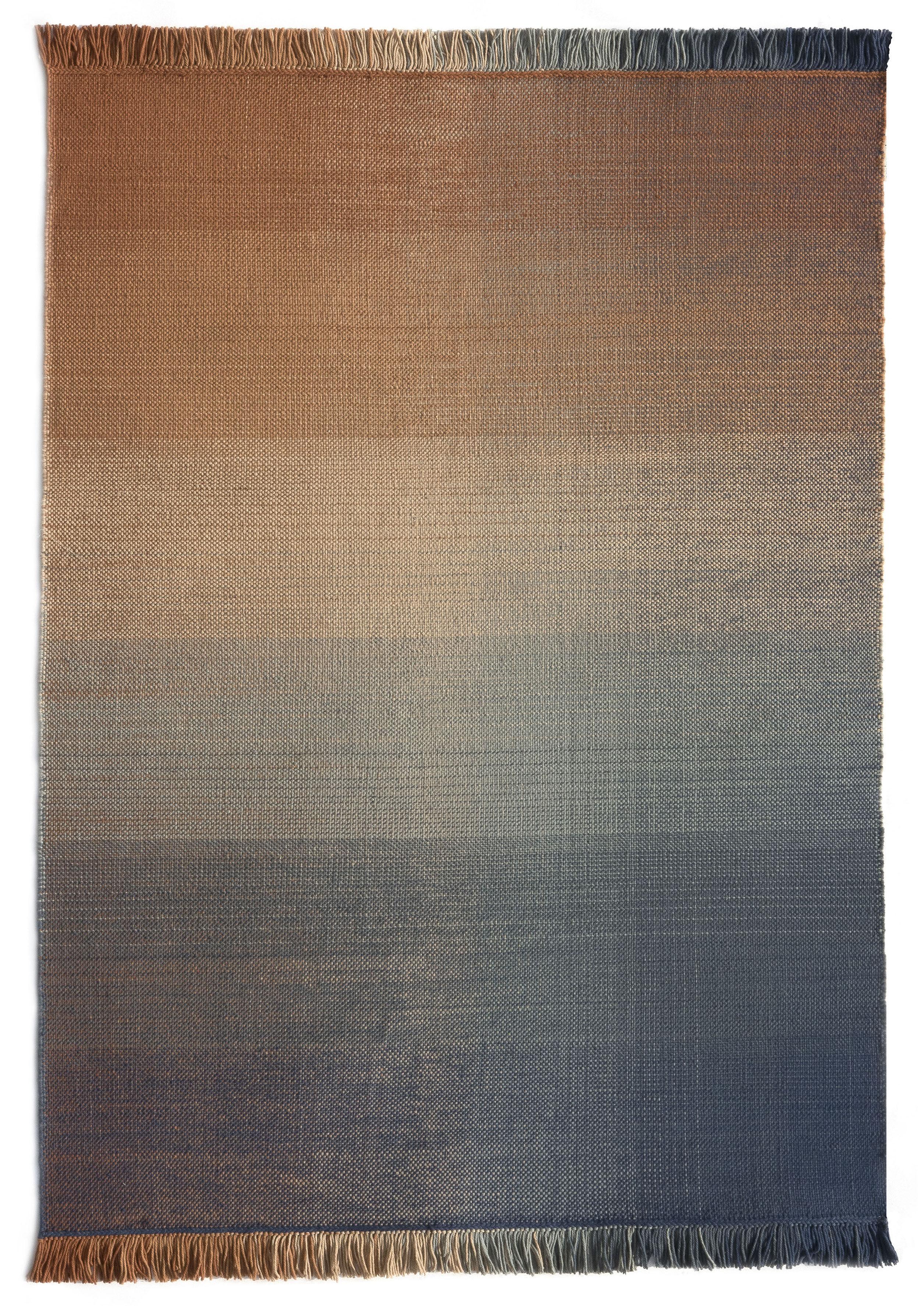 Dekoration - Teppiche - Shade palette 2 Außenteppich / 200 x 300 cm - Nanimarquina - Blau & Orange - Polyäthylen