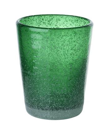 Tavola - Bicchieri  - Bicchiere He di Pols Potten - Vert - Verre bullé teinté dans la masse