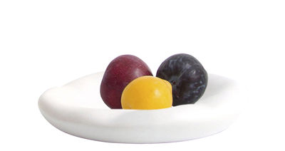 Tableware - Plates - Canova Small Bowl - Plate - Ø 20 cm by Moustache - White - Ceramic