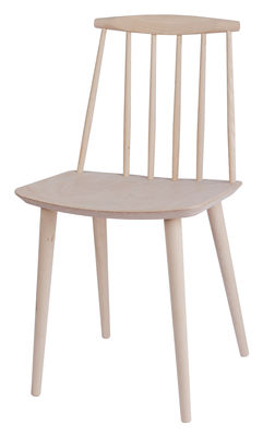 Furniture - Chairs - J77 Chair - Wood by Hay - Beech - Natural beechwood