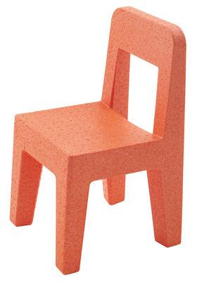 Chaise enfant Seggiolina Pop - Magis Collection Me Too orange en matière plastique