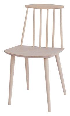 Chaise J77 / Bois - Hay bois naturel en bois