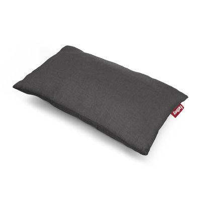 Coussin d'extérieur King OUTDOOR / Tissu acrylique - 66 x 40 cm - Fatboy noir en tissu