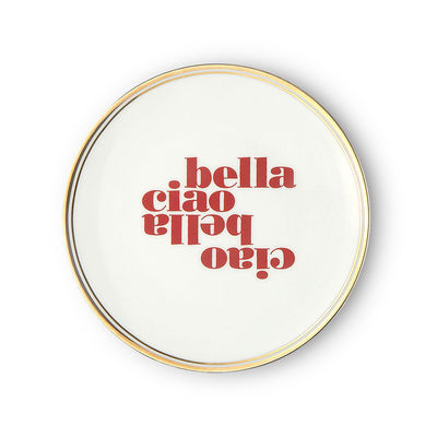 Tableware - Plates - Ciao bella Dessert plate - / Ø 17 cm by Bitossi Home - Ciao Bella - China