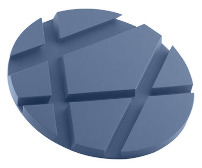 Accessoires - Objets connectés, accessoires high tech - Dessous de plat SmartMat / Support smartphone & tablette - Silicone - Eva Solo - Bleu moonlight - Métal, Silicone