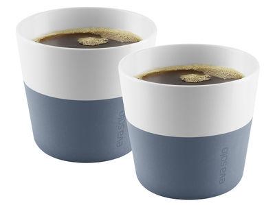 Gobelet Lungo / Set de 2 - 230 ml - Eva Solo blanc,bleu acier en céramique