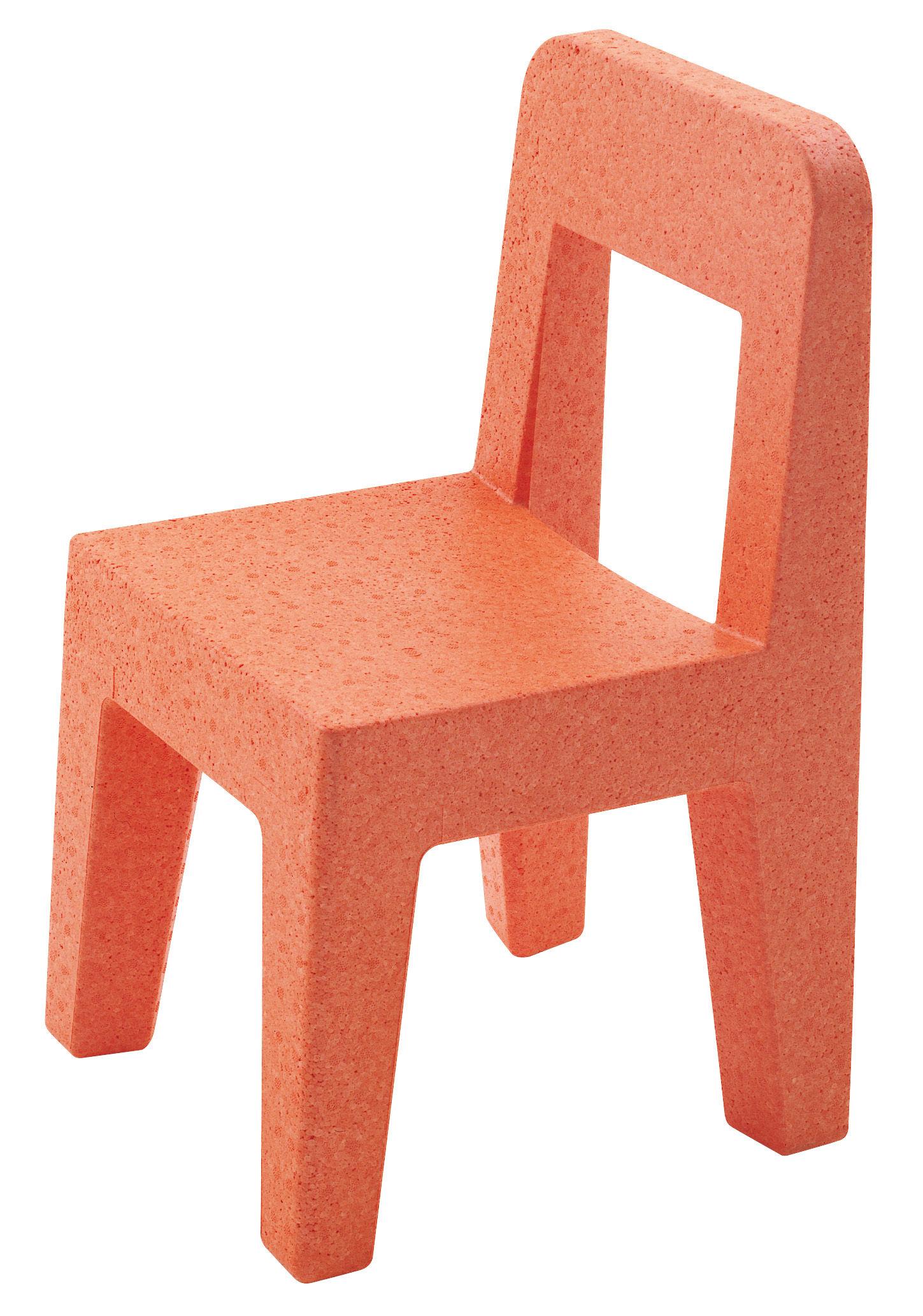 Möbel - Möbel für Kinder - Seggiolina Pop Kinderstuhl - Magis Collection Me Too - Orange - Polypropylen
