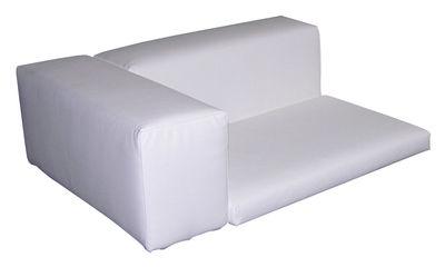 Kissen dossier & accoudoir / Pour canapé Happy Life - Slide - Weiß