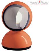 Lampe de table Masters' Pieces - Eclisse / 1967 - Artemide orange en métal