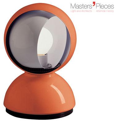 Lampe de table Masters´ Pieces - Eclisse / 1967 - Artemide orange en métal