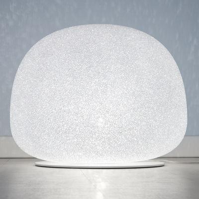 Lampe de table Sumo Large / H 35 x Ø 45 cm - Lumen Center Italia blanc en matière plastique