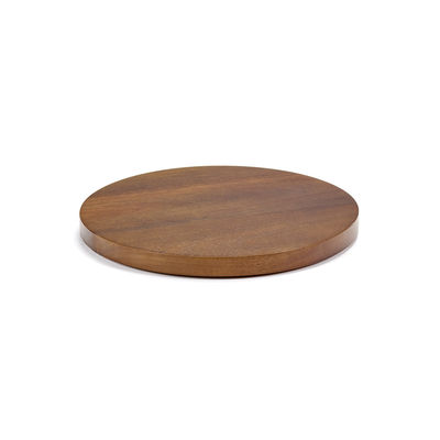 Tableware - Plates - Dishes to Dishes - Medium Lid - / Ø 22.8 cm - Acacia by valerie objects - Medium / Acacia - Acacia wood