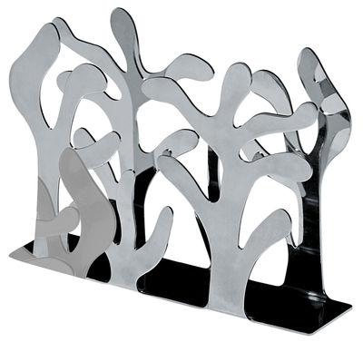Porte-serviettes en papier Mediterraneo - Alessi acier en métal