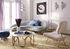 Ether Curved Sofa / Samt & Messing - L 238 cm - Jonathan Adler