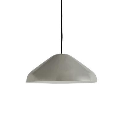 Suspension Pao Medium / Ø 35 cm - Acier - Hay gris en métal