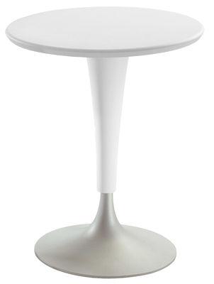 Table de jardin Dr. Na / Ø 60 cm - Kartell beige en matière plastique