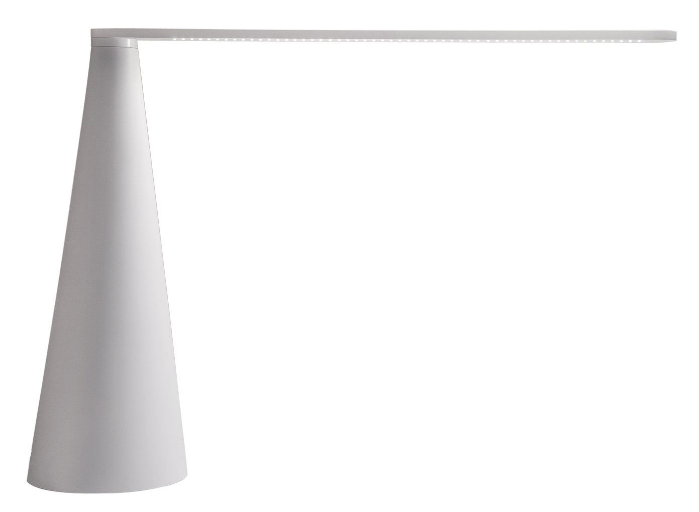 Lighting - Table Lamps - Elica Table lamp - Large version H 52 cm by Martinelli Luce - White - Aluminium