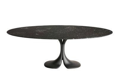 Mobilier - Tables - Table ronde Didymos / Marbre - Ø 140 cm - Driade - Noir - Cristalplant, Marbre noir Marquina