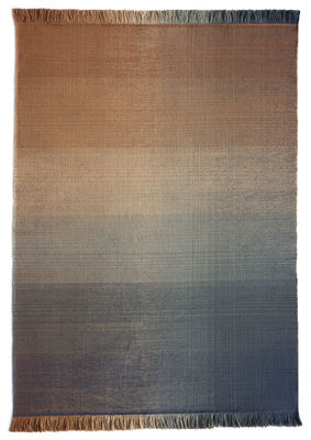 Interni - Tappeti - Tappeto per esterno Shade palette 2 - / 200 x 300 cm di Nanimarquina - Blu & arancione - Polietilene