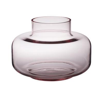 Déco - Vases - Vase Urna / Verre - Ø 30 x H 21 cm - Marimekko - Rose - Verre soufflé bouche