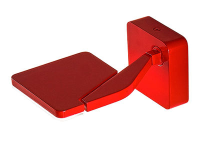 Applique jackie led orientable rouge panzeri made in design