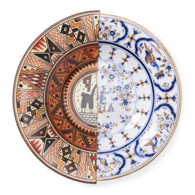 Arts de la table - Assiettes - Assiette creuse Hybrid Tula / Ø 25 cm - Seletti - Tula - Porcelaine