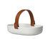 Svaale Basket - /20 x 13 cm - Removable leather handle by Marimekko