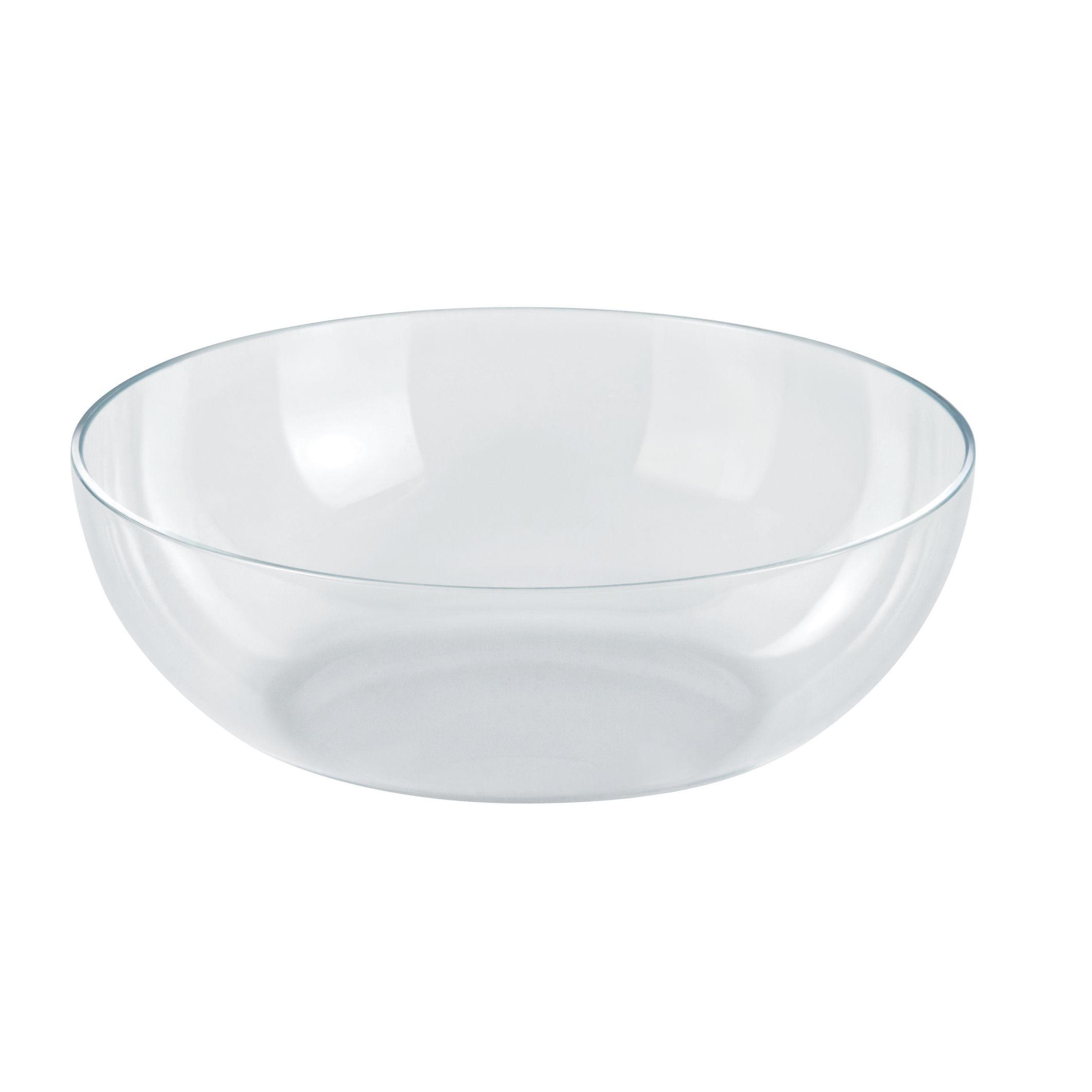 Arts de la table - Saladiers, coupes et bols - Bol transparent / Pour corbeille Mediterraneo Ø 29 cm - Alessi - Transparent - Plastique