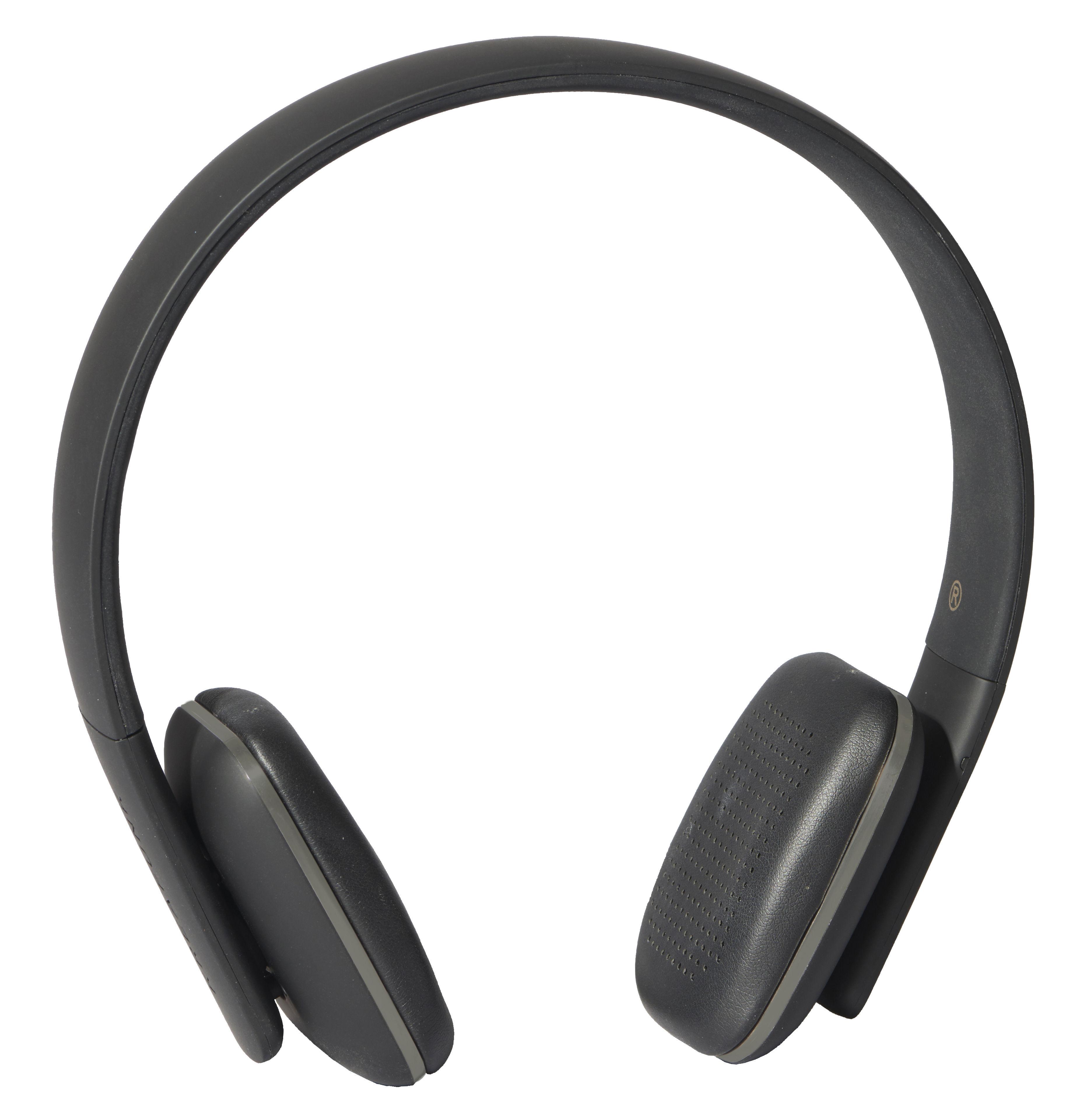 Accessoires - Enceintes audio & son - Casque Bluetooth A.HEAD / Bluetooth - Kreafunk - Noir / Métal - Cuir, Matière plastique