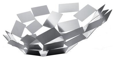 Centre de table La Stanza dello Scirocco / Ø 41 x H 15 cm - Alessi acier poli en métal