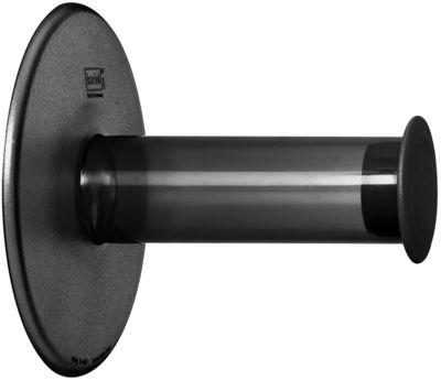 Dérouleur de papier toilette Plug´N Roll - Koziol gris/noir en matière plastique