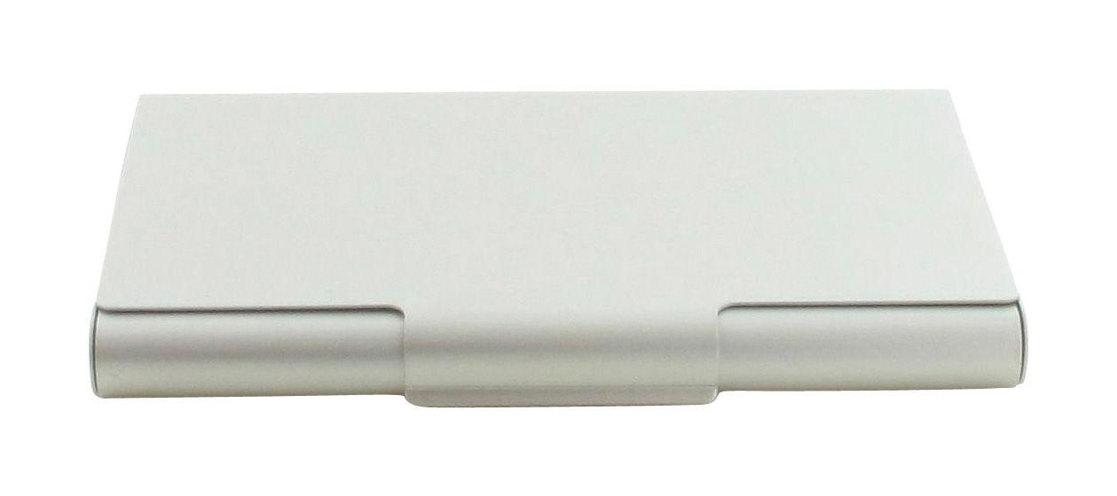 Déco - Accessoires bureau - Etui pour cartes de visite Card Box - Lexon - Aluminium - Aluminium anodisé