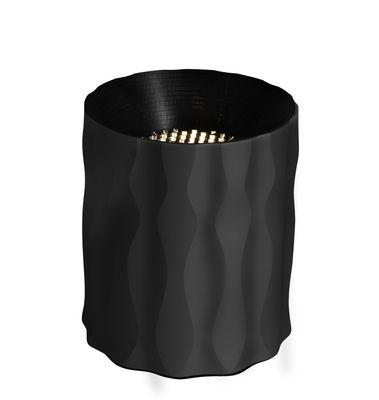 Lampe de table Fiamma / H 16 cm - Artemide noir,métal en métal