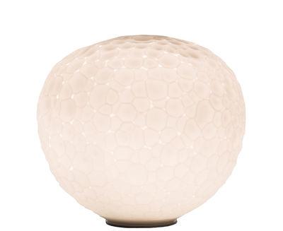 Luminaire - Lampes de table - Lampe de table Meteorite / Ø 15 cm - Edition limitée - Artemide - Blanc - Verre soufflé