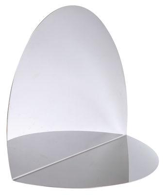 Miroir Anamorphose / à poser ou suspendre - L´atelier d´exercices miroir en métal