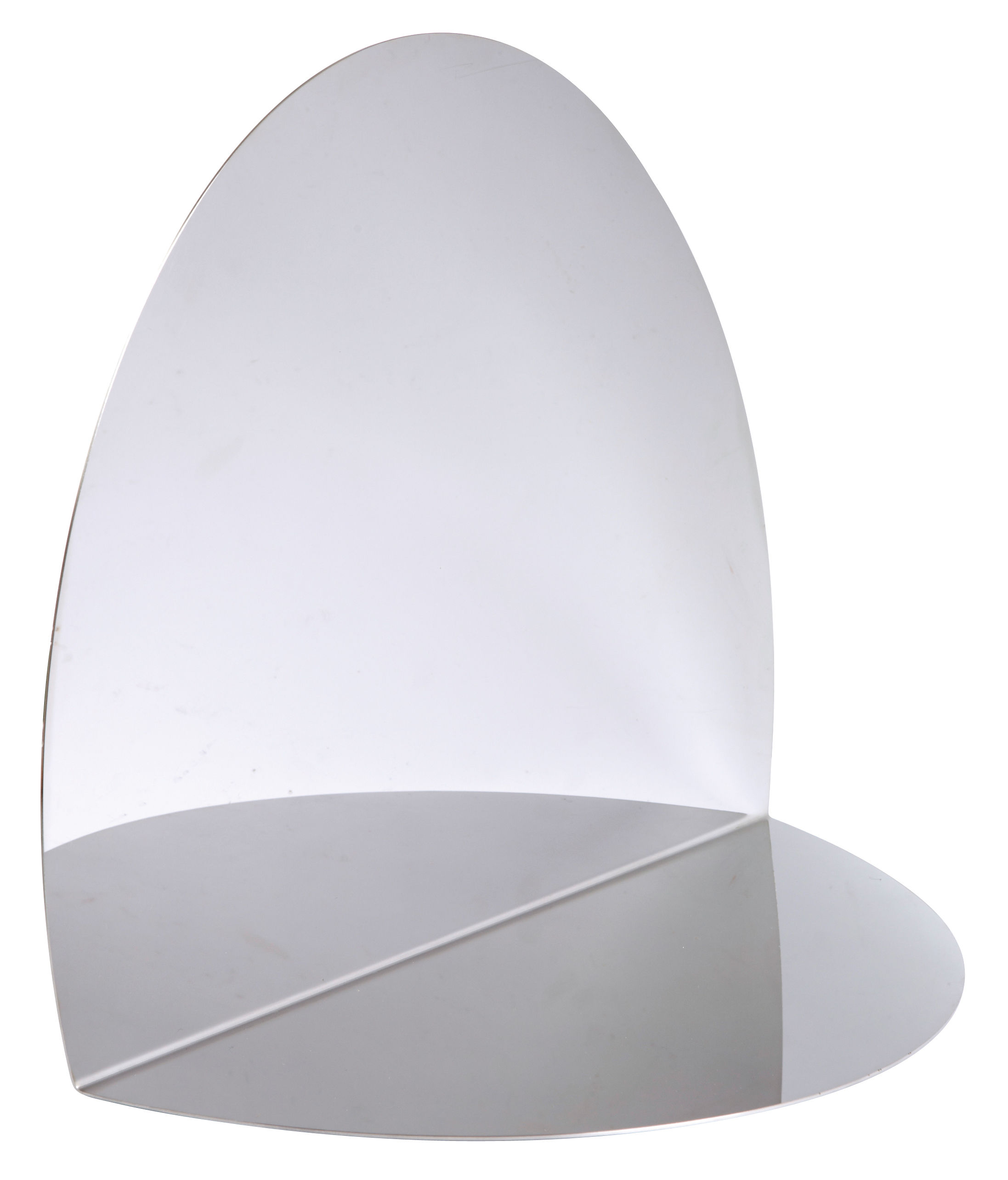 Decoration - Mirrors - Anamorphose Mirror by L'atelier d'exercices - Mirror - Stainless steel