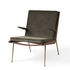 Boomerang HM2 (1956) Padded armchair - / With armrests - Walnut by &tradition