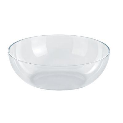Tischkultur - Salatschüsseln und Schalen - Schale Aus Thermokunststoff - Alessi - Transparent - Plastik