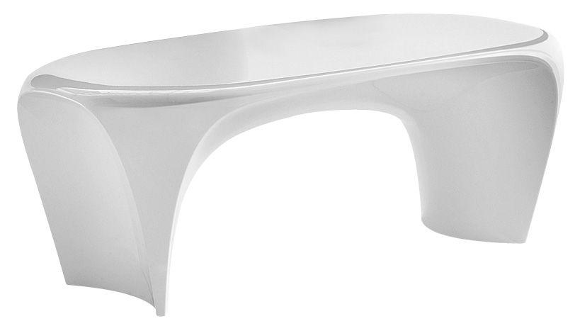 Arredamento - Tavolini  - Tavolino Lily di MyYour - Bianco opaco - Materiale plastico