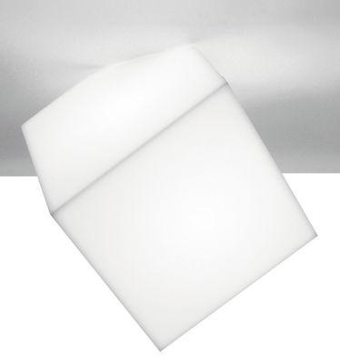 Luminaire - Appliques - Applique Edge / Plafonnier - Artemide - Blanc - côté 21.5 cm - Polypropylène