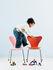 Série 7 Children's chair - / Frêne teinté by Fritz Hansen