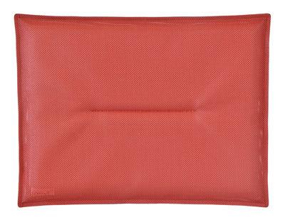Coussin d'assise / Pour chaise Bistro - Fermob rouge en tissu