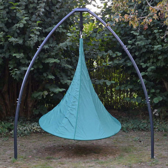 Outdoor - Ornaments & Accessories - Cover - / for Cacoon 1-person tent - Ø 150 cm by Cacoon - Green - Polyester cloth